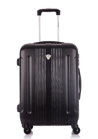 Чемодан со съемными колесами L'case Bangkok-22 Черный (M)