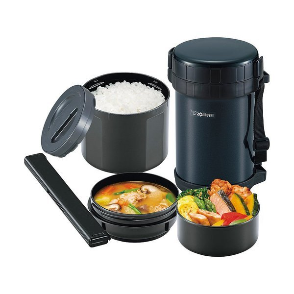 Термос для еды Zojirushi (2 литра), черный