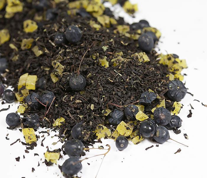 TEA-AR126 Черный фруктово-ягодный чай «Мятный Барбарис» (50 гр) фото 02