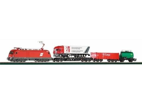 Грузовой поезд - Электровоз + 3 вагона, ÖBB