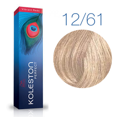 Wella Professional KOLESTON PERFECT 12/61 (Розовая карамель) - Краска для волос