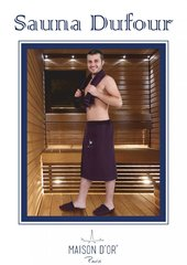 DUFOUR - ДУФОУР -набор мужской для сауны / Maison Dor(Турция)