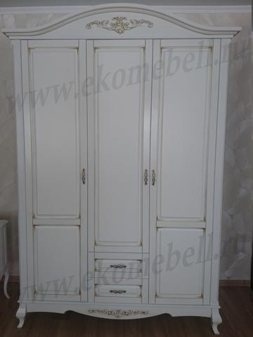 Шкаф «Авиньон» 3-х створчатый белый