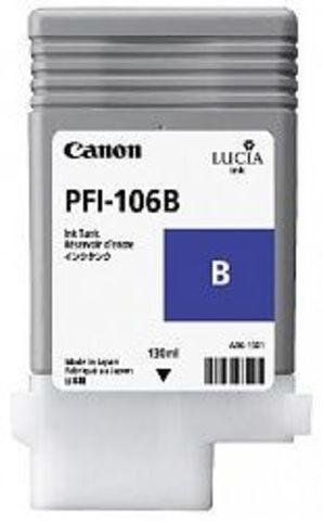 Картридж Canon PFI-106B blue (синий) для imagePROGRAF 6300/6350/6400/6450