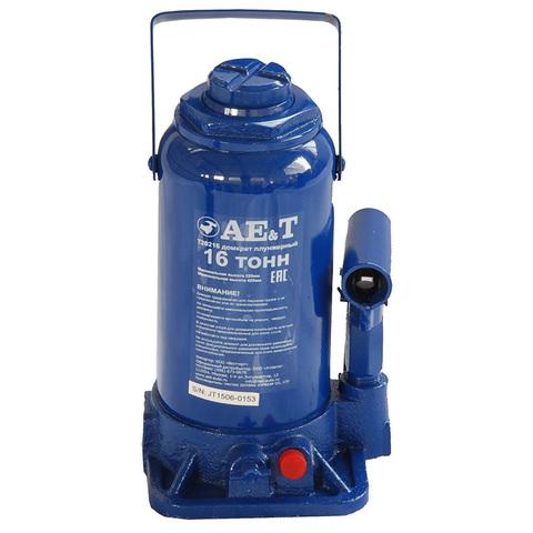 AE&T (T20216) Домкрат бутылочный 16 тонн