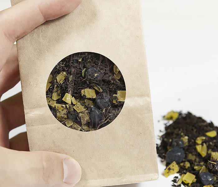 TEA-AR126 Черный фруктово-ягодный чай «Мятный Барбарис» (50 гр) фото 04