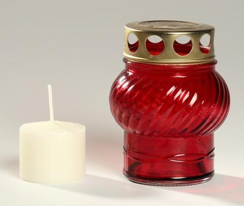 Лампада №1 со сменной вставкой (свечой)