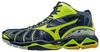 Мужские высокие волейбольные кроссовки Mizuno Wave Tornado X Mid черные (V1GA1617 47) фото