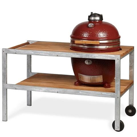 Керамический гриль Monolith Grill Classic L со столом (красный)
