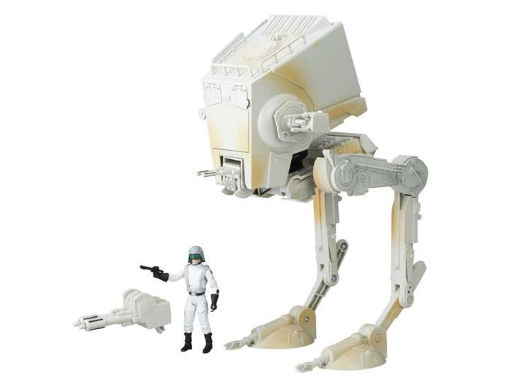 Игрушка шагоход AT-ST с пилотом Star Wars: Black Series Звездные Войны