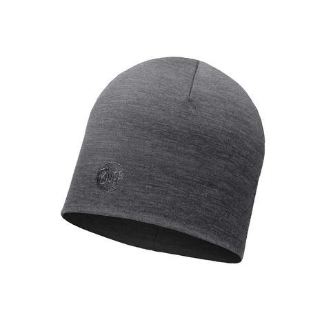 Зимняя шерстяная шапка Buff Solid Grey