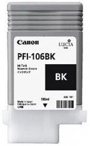 Картридж Canon PFI-106BK black (черный) для imagePROGRAF 6300/6350/6400/6450
