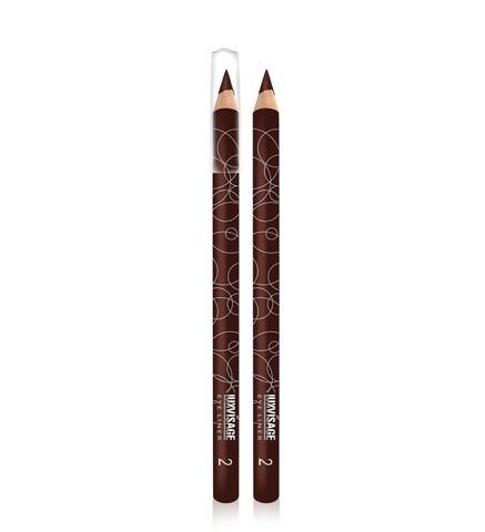 LuxVisage Карандаш для глаз тон 02 темно-коричневый