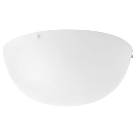 БЬЕРЕСЬЁ Потолочный светильник, белый, 30 см