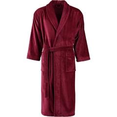 Халат махрово-велюровый Vossen Feeling burgundy