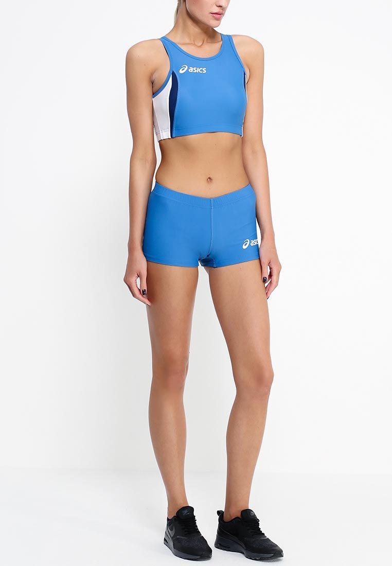 Женский топ для легкой атлетики Asics Hop Lady Top (T534Z6 4301) синий