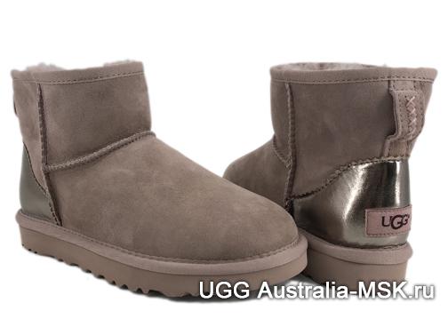 UGG Mini Classic II Metallic Smoky