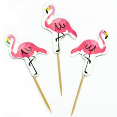 Пики для канапе Фламинго, 12 шт
