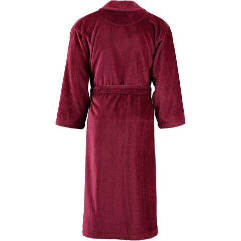 Элитный халат махрово-велюровый Feeling burgundy от Vossen