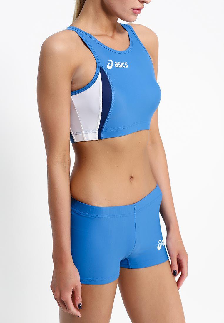 Женский топ асикс Hop Lady Top (T534Z6 4301) синий