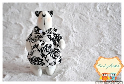 Котенок Моника из колекции Black and White Cats