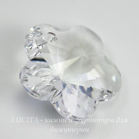 6744 Подвеска Сваровски Цветочек Crystal (12 мм)