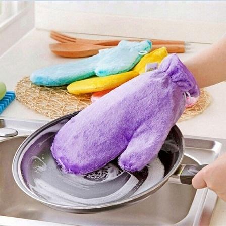 Товары для кухни Варежкa двусторонняя для мытья посуды и уборки varejka_dlya_mitiya_posudi3.jpg