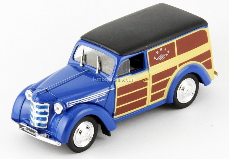 Moskvich-400-422 USSR Mail 1:43 DeAgostini Service Vehicle #22