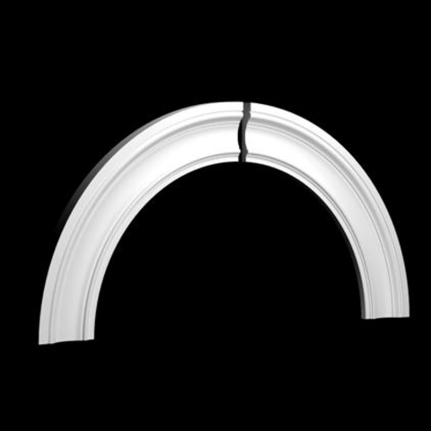 Арочное обрамление  Европласт из полиуретана 4.87.032, интернет магазин Волео