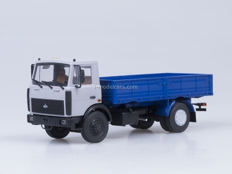 MAZ-5337 board later cabin AutoHistory 1:43