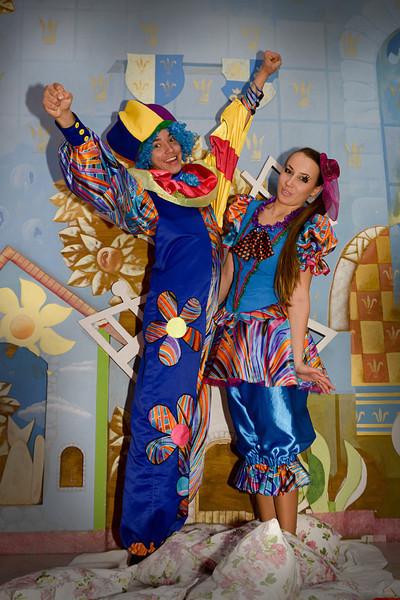 клоуны Алматы