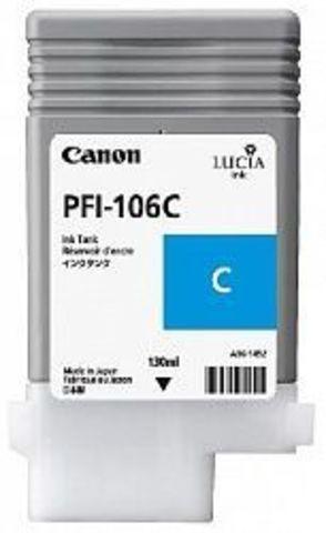 Картридж Canon PFI-106C cyan (голубой) для imagePROGRAF 6300/6350/6400/6450
