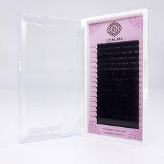 Ресницы черные Enigma, изгиб С mix (16 линий)