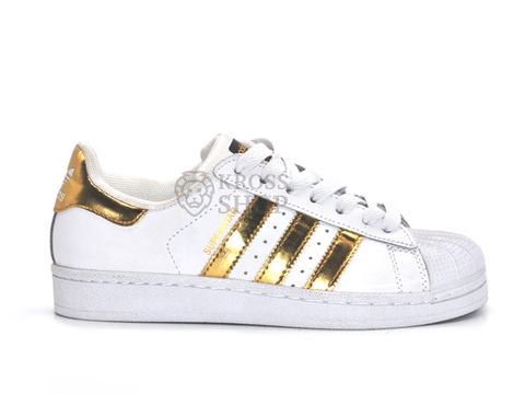 Adidas Women's SuperStar White/Gold