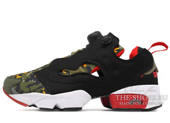 Кроссовки Женские Reebok Insta Pump Fury Black Camo