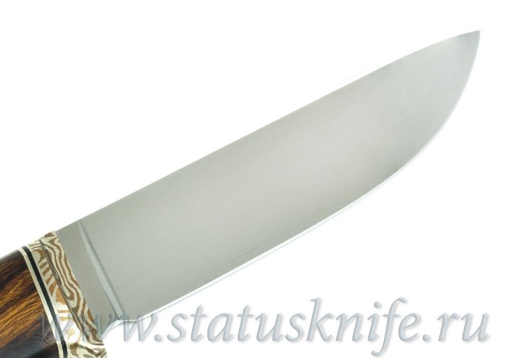 Нож авторский S125VN Мокуме ironwood