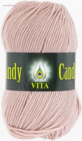 Пряжа Candy Vita 2545 Чайная роза - купить в интернет-магазине