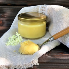 Масло гхи имбирное 0,2 литра (masloghee)