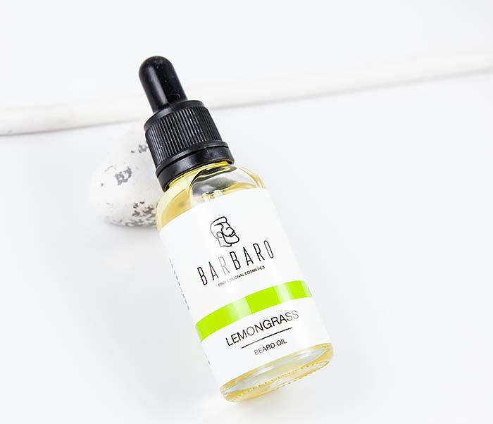 RAZ1067 Ухаживающее масло для бороды «Lemongrass» от Barbaro (30 мл)