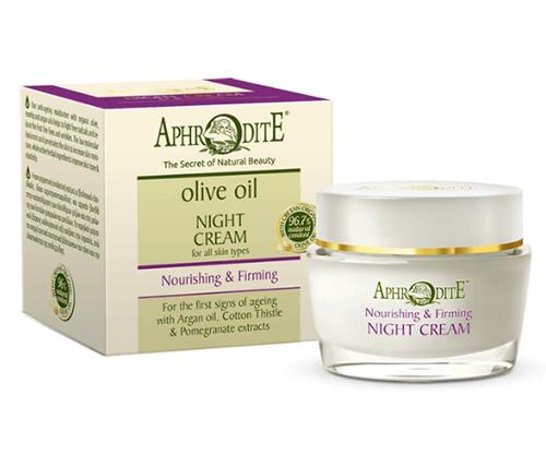 Антивозрастной питательный ночной крем для лица, Aphrodite