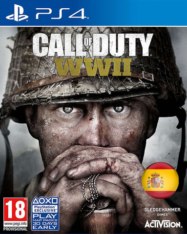 Sony PS4 Call of Duty: WWII (испанская версия)