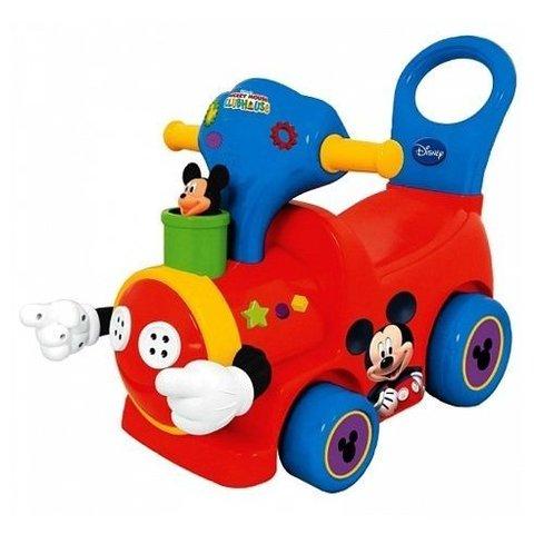 Каталка-толокар Поезд с Микки Маусом