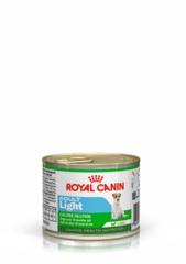 Royal Canin Adult Light влажный корм мусс для взрослых собак с 10 месяцев и весом менее 10 кг, предрасположенных к полноте Банка 195 гр