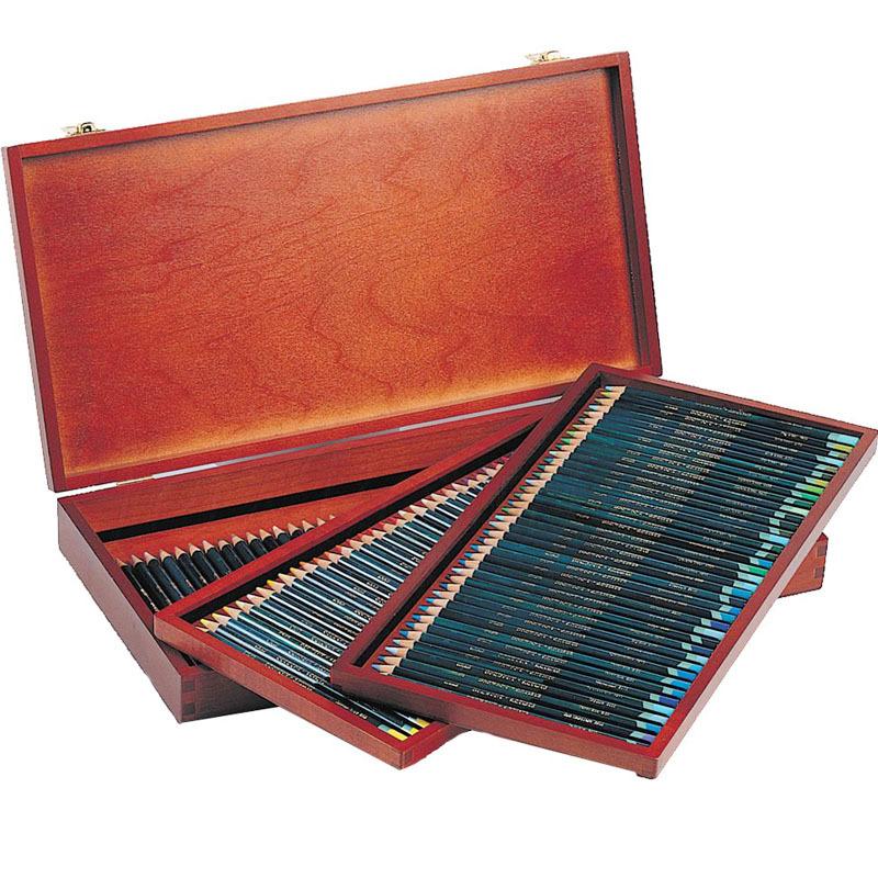 Набор из 120 цветных карандашей Derwent