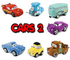 Cars 2 Plush 8''