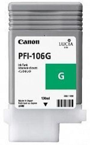 Картридж Canon PFI-106G green (зеленый) для imagePROGRAF 6300/6350/6400/6450