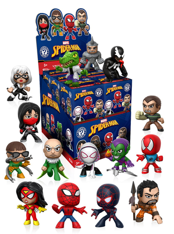 Фигурка Funko Mystery Minis: Marvel: Animated Spider-Man (1шт.) 34757