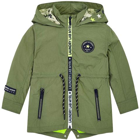 Куртка-парка Mayoral хаки Laundry Lab