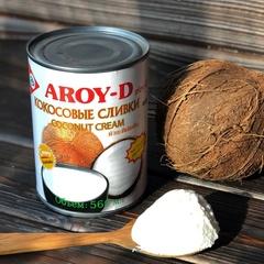 Кокосовые сливки Aroy-D 70%, 560 мл