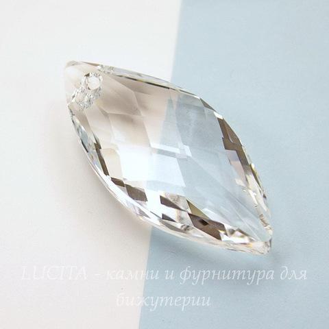6110 Подвеска Сваровски Navette Crystal (40х18 мм)